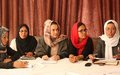 Improving Afghan women's standing through good governance the topic of expert forum