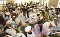 Religious leaders efforts to foster peace reinforced