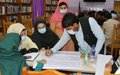 Nangarhar University students take peacebuilding discussions to communities