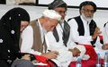Kandahar leaders gather to discuss causes of conflict, prospects for peace