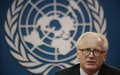 UN official calls for transition strategy, not exit strategy