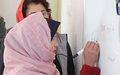 Bamyan literacy campaign