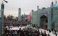 Thousands celebrate Nowruz in Mazar-i-Sharif