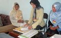Mock voting exercise in Bamyan