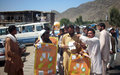 Election outreach in Nangarhar