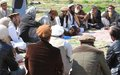 Elders' role in bringing stability to Afghanistan's east, focus of new radio discussion