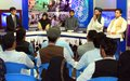 Youth's role in building peace spotlighted in televised UN-backed debate