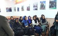 At UN event, Herat police focus on eliminating violence against women
