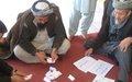 Kunduz residents discuss community peacebuilding at UN-backed meeting