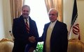 UNAMA chief meets with Iranian Deputy Foreign Minister and other high-ranking officials