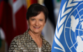 SRSG Deborah Lyons at the ARRIA meeting on Afghanistan