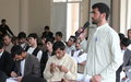 Paktika youth discuss challenges and way forward to peaceful future